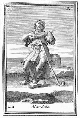 Guitar, 1723 Poster by Granger