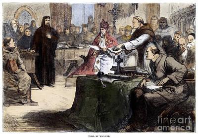 John Wycliffe (1320?-1384) Poster by Granger
