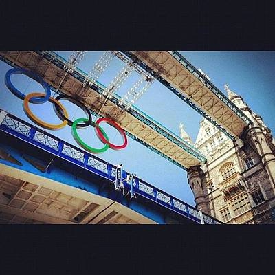 #london2012 #london #olympics Poster by Nerys Williams