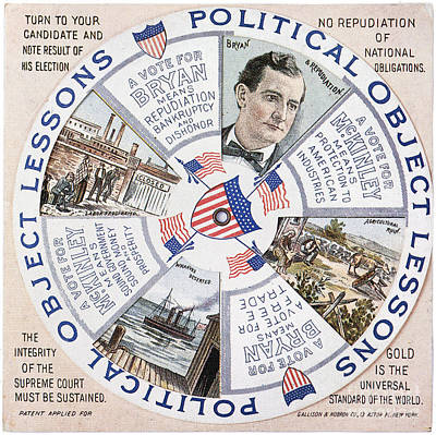 Presidential Campaign, 1896 Poster