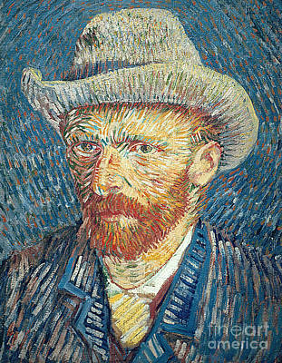 Self Portrait Poster by Vincent Van Gogh