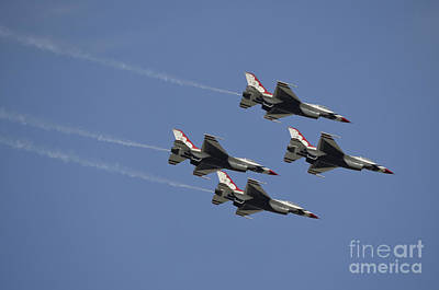 The U.s. Air Force Thunderbirds Fly Poster