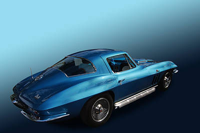 66 Vette 427 Poster by Bill Dutting