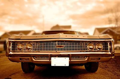 69 Impala Poster by Andre Faubert