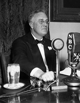 President Franklin D. Roosevelt Poster