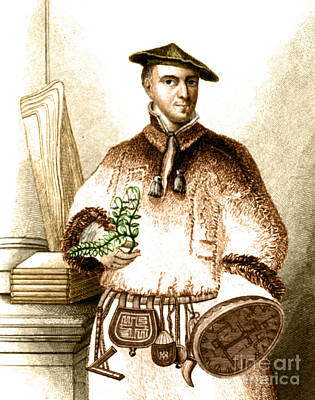 Carl Linnaeus, Swedish Botanist, Father Poster