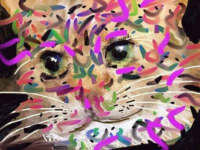 Cat Poster by Bogdan Floridana Oana