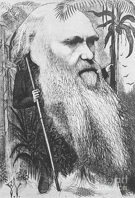 Charles Robert Darwin, English Poster by Science Source
