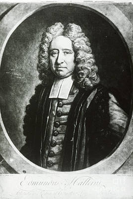 Edmond Halley, English Polymath Poster