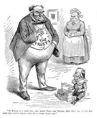 Mckinley Cartoon, 1900 Poster by Granger