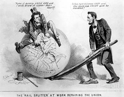 Presidential Campaign: 1864 Poster