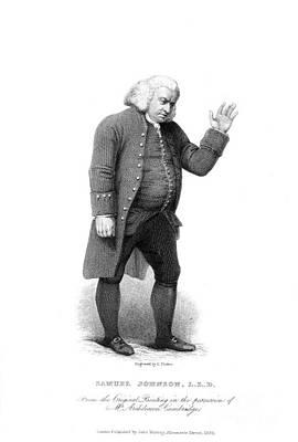 Samuel Johnson (1709-1784) Poster