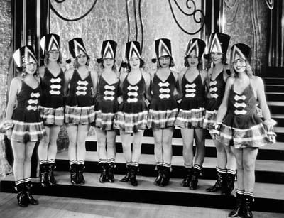 Silent Still: Showgirls Poster