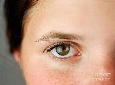 Womans Eye Poster