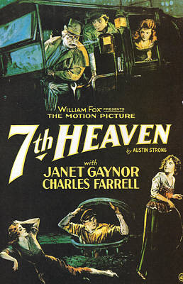 7th Heaven Poster by Georgia Fowler