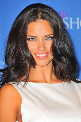 Adriana Lima At In-store Appearance Poster