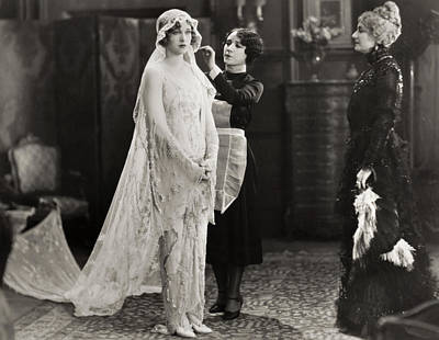 Silent Film Still: Wedding Poster
