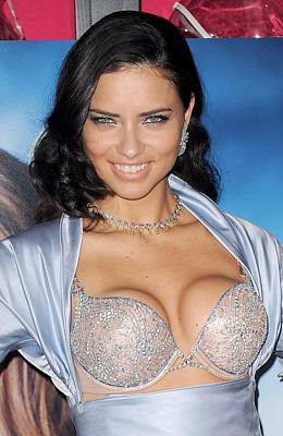 Adriana Lima At In-store Appearance Poster by Everett
