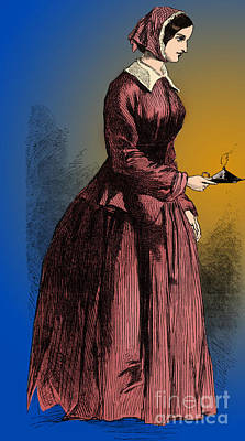 Florence Nightingale, English Nurse Poster by Science Source