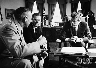 John F. Kennedy (1917-1963) Poster by Granger