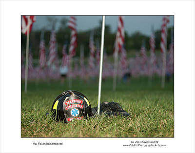 911 Fallen Remembered Poster