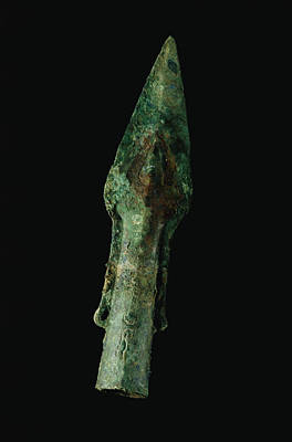 A Bronze Spear Found In Poster