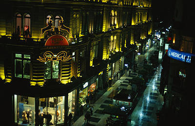 A Buenos Aires Shopping District Poster
