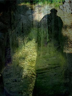 A Dark Presence Poster by Shirley Sirois