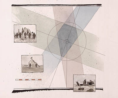 A Diagram Reveals The Position Poster by Richard Schlecht