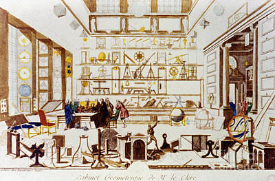 A Geometry Room, 1711-14 Poster