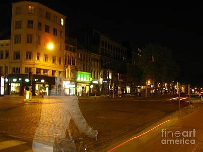 A Ghost Of Antwerp. Belgium. Poster by Ausra Huntington nee Paulauskaite
