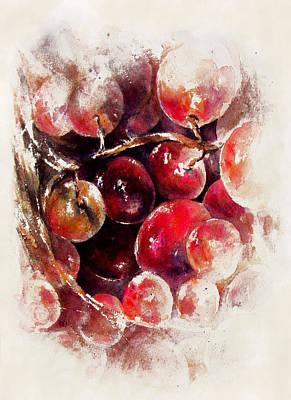 A Grape Love Story Poster by Rachel Christine Nowicki