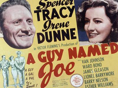 A Guy Named Joe, Spencer Tracy, Irene Poster