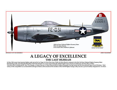 A Legacy Of Excellence Poster by Jerry Taliaferro
