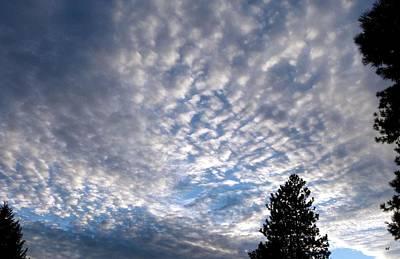 A Mackerel Sky Poster by Will Borden