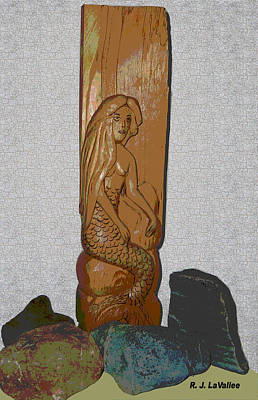 A Mermaid Of Pine Poster