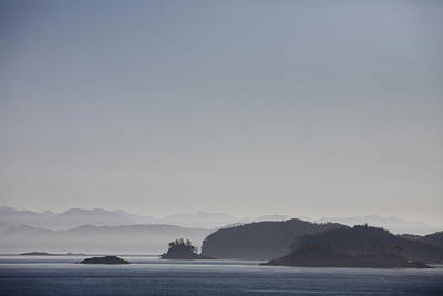 A Misty Afternoon On Haida Gwaii Poster by Taylor S. Kennedy