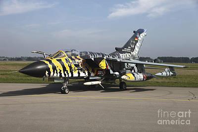 A Panavia Tornado Aircraft With Special Poster
