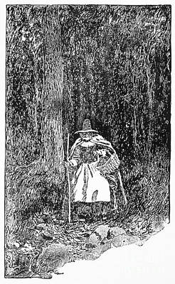 A Salem Witch, 1692 Poster by Granger