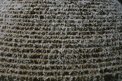A Soothing Terraced-waterfall Fountain Poster by Stephen St. John