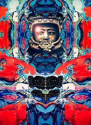 A Space Man Came Traveling Poster