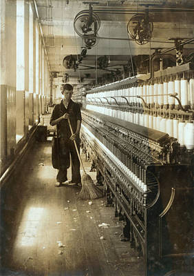 A Textile Mill Worker, King Philip Poster by Everett