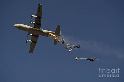 A U. S. Air Force C-130 Hercules Poster