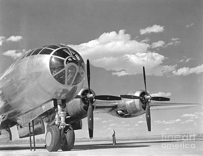 A U.s. Army Air Forces B-29 Poster