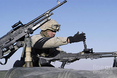 A U.s. Marine Corps Troop Loads Poster by Stocktrek Images