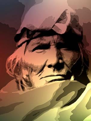 A Zuni Elder Poster by Lisa Berton