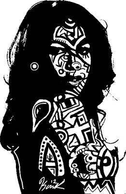 Aaliyah By Kamoni-khem Poster by Kamoni Khem