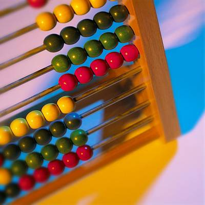 Abacus Poster by Mark Sykes