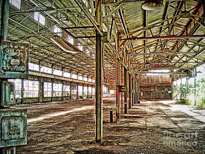 Poster featuring the photograph Abandon Factory by Joe Finney