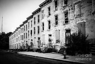 Abandoned Glencoe-auburn Buildings Cincinnati Ohio Poster by Paul Velgos